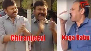 Chiranjeevi and Naga Babu Families Claps for the Saviours of Public | #JantaCurfew | TeluguOne - TELUGUONE