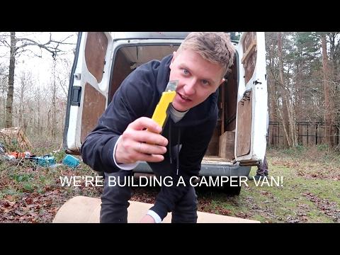 BUILDING THE CAMPER VAN || DAY 1 & 2