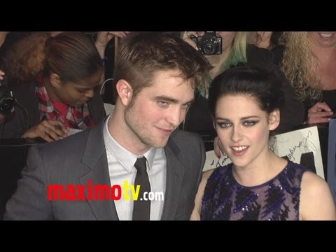 "Kristen Stewart and Robert Pattinson ""Breaking Dawn Part 1"" World Premiere"