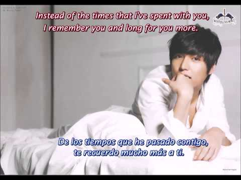 Lee Minho (이민호) Without You - Subtítulos en Español e Inglés/English and Spanish subtitles