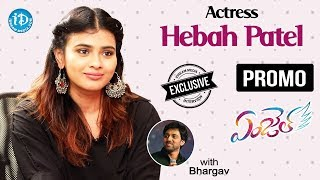 Actress Hebah Patel Exclusive Interview - Promo || Talking Movies With iDream - IDREAMMOVIES