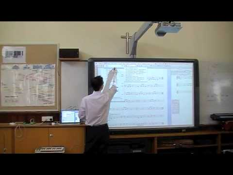 An Interactive Music Classroom