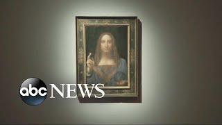 Mystery buyer pays record-shattering $450 million for rare Leonardo da Vinci painting - ABCNEWS