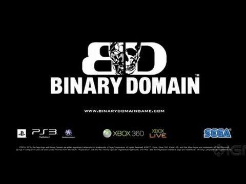 Binary Domain - Man and Machine Trailer