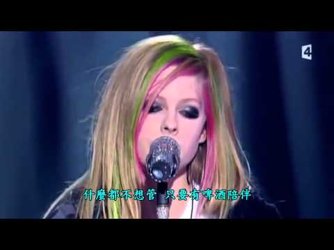 艾薇兒 (Avril Lavigne) Tik Tok - Live演唱版 (中文字幕)