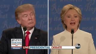 Presidential Debate 2016 | Clinton, Trump on Tax Returns, Clinton Foundation - ABCNEWS