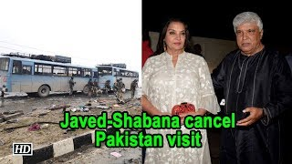 Javed Akhtar, Shabana Azmi cancel Pakistan visit - BOLLYWOODCOUNTRY