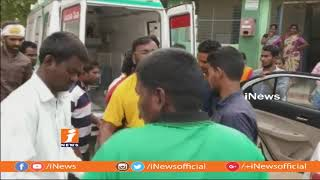 3 Lost And 3 Wounded In Road Mishap In Muktal | Mahabubnagar | iNews - INEWS