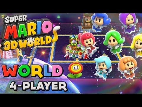 Super Mario 3D World - World Flower (4-Player)