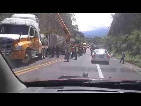 Accidente Carretero 19/07/2014. Autopista Guadalajara -- Colima