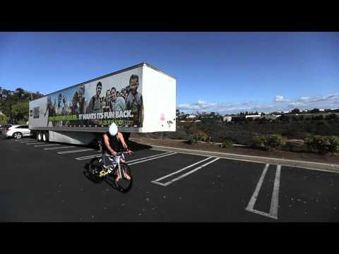Triathlete Magazine Demo Of A Flying Bike Mount