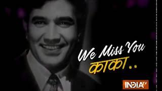 Remembering Bollywood's heartthrob Rajesh Khanna on 6th Death Anniversary - INDIATV