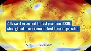 2017 Takes Second Place for Hottest Year - NASAEXPLORER