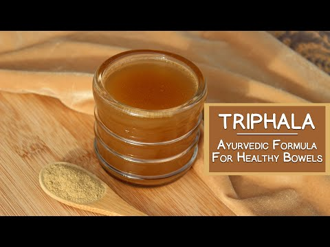 Triphala Powder, An Ayurvedic Formula for Healthy Bowels