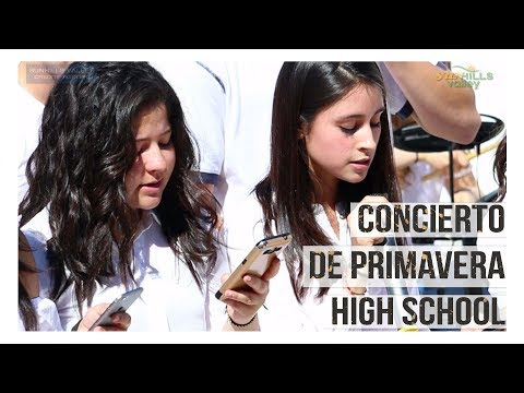 Concierto de Primavera High School