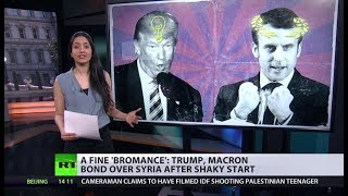 Newest political bromance: Trump+Macron, what are their common grounds? - RUSSIATODAY
