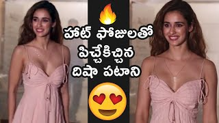 Disha Patani's H0T Look At Malang Trailer Launch Party - TFPC