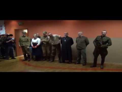 """Inscenizacja egzekucji """"Inki"""" Danuty Siedzikówny, zorganiowana przed DIN"""