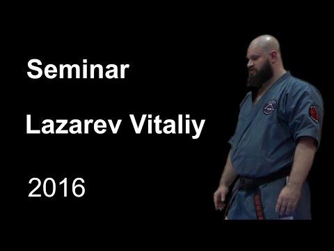 Demonstration 16: sensei Lazarev Vitaliy Aikido & Aikijujutsu Yosekan Russia Sistema Samooborony