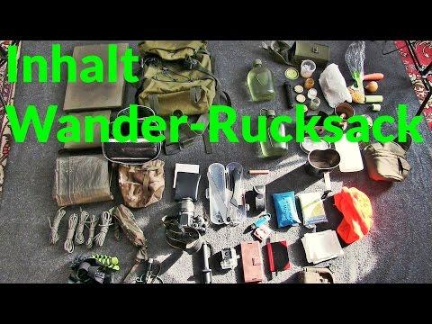 Inhalt meines Wanderrucksack (Daypack) für eine Tages-Tour im Schwarzwald | Outdoor Ausrüstung TV