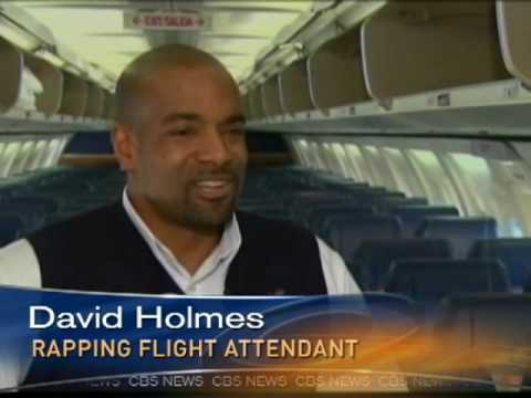 Rapping Flight Attendant