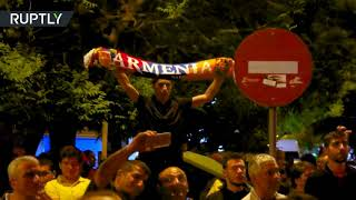 Protest turns violent in Greece on 103rd Armenian Genocide anniv. - RUSSIATODAY