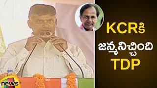 Chandrababu Naidu Says People struggled a lot with TRS Govt | Chandrababu Naidu Satires on KCR - MANGONEWS