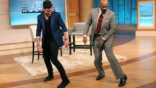 فيديو| ابنة بروس ويليس وديمي مور تتعلم رقصة
