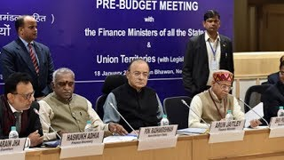FM chairs pre-budget meeting with finance ministers of all states, UTs - TIMESOFINDIACHANNEL