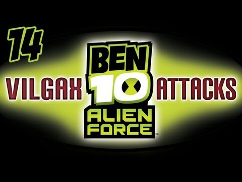 "Lets Play ""Ben 10 Alien Force: Vilgax Attacks"" on 360 Part 14"