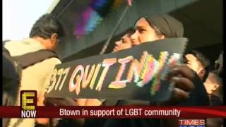 Btown in support of LGBT community - TIMESNOWONLINE