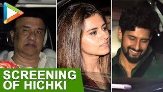 Rani Mukerjee Host Special Screening Of Hichki On Her Birthday | Riddhi Dogra, Anu Malik, Ravi Dubey - HUNGAMA