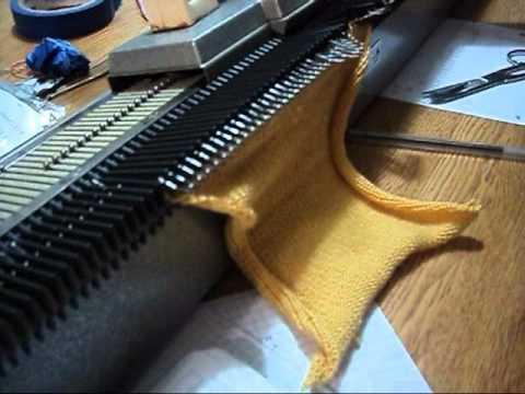 Como usar una maquina de tejer Knittax Automatic