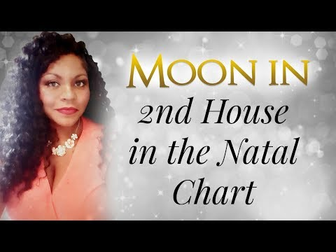 MOON IN THE 2ND HOUSE OF THE NATAL CHART
