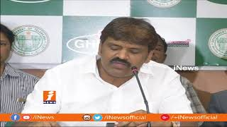 GHMC Mayor Bonthu Rammohan Speaks To Media Over Prjoket issues In GHMC | iNews - INEWS