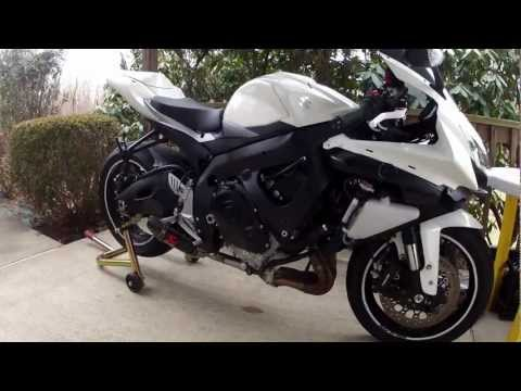 09 GSXR 750 Akrapovic Slip-On Exhaust + Cat Delete