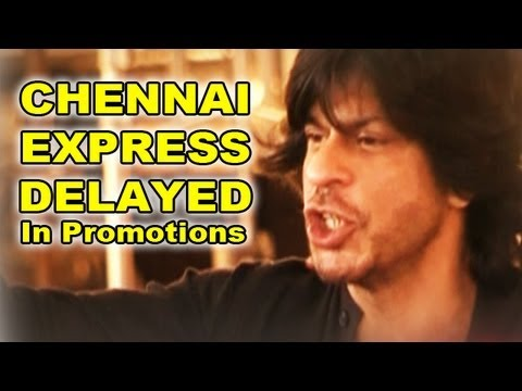 Sharhrukh Khan's back injury keeps 'Chennai Express' promotion on hold