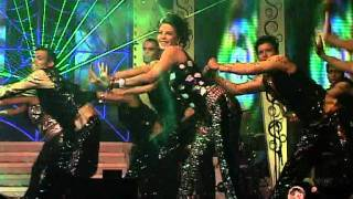 Neha And Jacqueline sizzle at new year 2012 dance perfomance