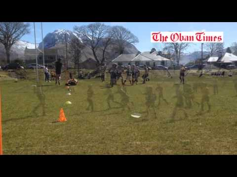 Mini rugby at Lochaber 2015