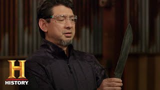Forged in Fire: Bicycle-Damacus Blades Tested (Season 5) | History - HISTORYCHANNEL