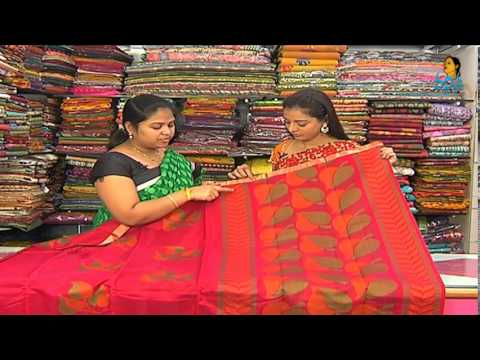 Pattu and Fancy Designer Sarees with Blouses | Sogasu Chuda Tarama_26-11-2013 | Vanitha TV