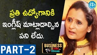 Director Of Hamstech Institute Of Fashion Ajitha Reddy Interview-Part #2| Business Icons With iDream - IDREAMMOVIES