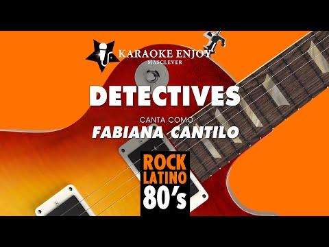 Detectives - Fabiana Cantilo (Version cover Karaoke con letra pintada)