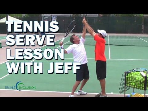 TENNIS SERVE LESSON | Tennis Lesson On The Serve -rlQWslqhXRI