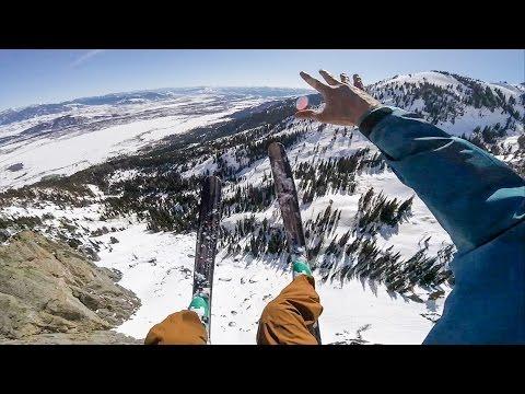 GoPro: Marshall Millers Gigantic Jackson Hole Ski BASE Jump