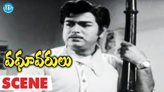 Vadhu Varulu Movie Scenes - Allu Ramalingaiah Doesn't Accept Chandra Marriage With Rama - IDREAMMOVIES