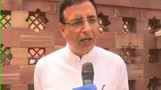 Randeep Surjewala speaks to NewsX on Lingayat 2013 report - NEWSXLIVE