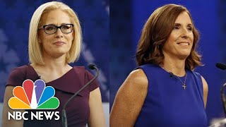 Watch These Fiery Moments From The Arizona U.S. Senate Debate | NBC News - NBCNEWS