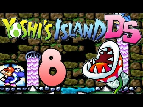Let's Play Yoshi's Island DS - Part 8 - Irrsinn im Kanalisations-Labyrinth