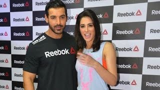 John Abraham, Nargis launch Reebok fitness store - BOLLYWOODCOUNTRY